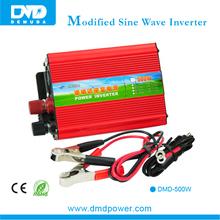 Good Quality Ac Motor Converters 12V/24V/48V 220V/110V Modified Sine Wave 500W Inverter