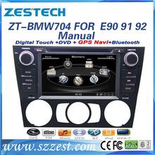 ZESTECH 2 Din Touch scren car dvd for BMW E90 E91 E92 E93 car dvd gps with bluetooth tv ipod usb
