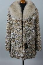 Lynx Fur Coat & Fox Collar