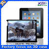 New fashion 3d animal case for ipad 3