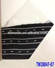 2013 new fashion stripe printing 100% silk neck tie color card