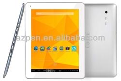 9.7 inch 1024*768, dual core CPU GPU, dual camera, 1G/8G, 2014 new year gift, Azpen A920, tablet PC