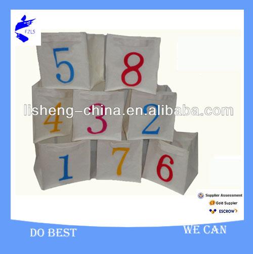 Folding Polyester Canvas Laundry Cube