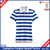 Sale hot 100% cotton women slim fit stripe polo T-shirt