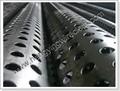 Arena pantalla de control/espiral soldada de acero inoxidable del tubo del filtro