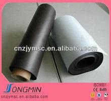 Flexible suave de goma plana material magnético