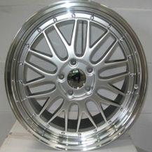 alloy wheels BBS LM 18 Inch Silver Polished Lip pcd 5x120