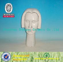 2014 modern ceramic garden lady figurine