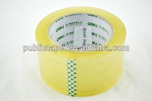 no bubble yellowish packing tape carton gummed tape