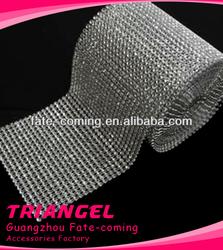 Fashion 24 Lines Plastic Mesh Trimming For Garment