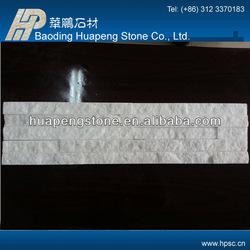 Durable clean fireproof pure white quartz adhesive paving