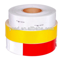 safety and reflective tapes,reflective trailer tape bright,red/white super bright high intensity reflective tape DOT-C2