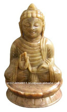 soapstone buddha carving crafts