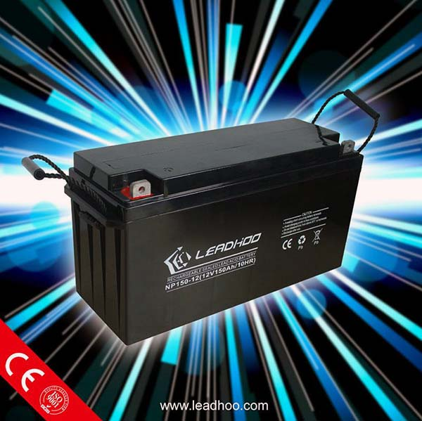 Special Design For Pakistan Market 12V 150AH Solar Batteries