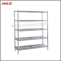 Restaurant 5 tiers Stainless Steel Kitchen Utensil Rack/Kitchen Utensils Hanging Rack/Stainless Steel Kitchen Plate Rack
