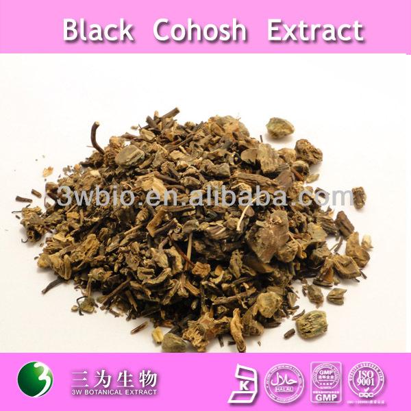 high quality 2.5%~8.0% Triterpene Glycosides black cohosh extract