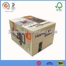 Fashion new design eco-friendly popular cardboard useful china box packaging