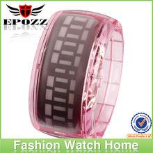 Colorful led bracelet wathes wholesale led watches exporter from china