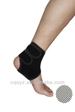 model 4642 elastic tourmaline magnetic ankle support padded