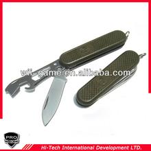 PTOD-S001 Multifunctional Tool pocket Knife folding knife bottle opener