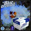 azul del tesoro de agua salada de coral rojo sal del mar