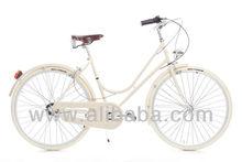 Retro Bicycle made in Europe classic vintage steel bike italian cycle urban city retro bike