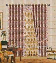 polyester gauze curtains/drapery ceiling/eyelet curtain