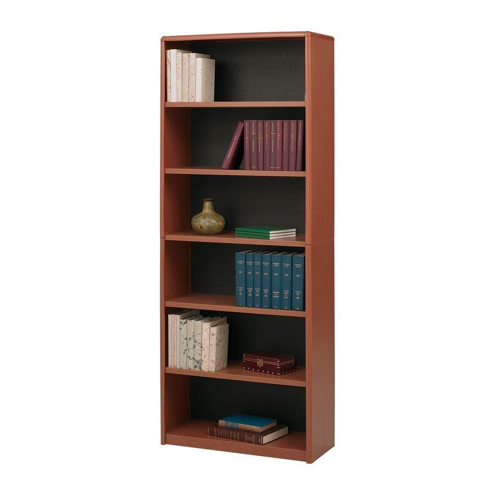 wooden bookshelf for library