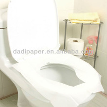 disposable tissue paper toilet seat covers 1/2 fold