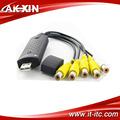 Easycap 4 canali dvr driver usb, video grabber