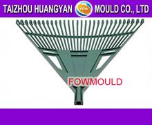 china custom plastic lawn rake mould design and manufacturer