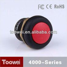 CE,IP67,RoHS metal dot illuminated push button