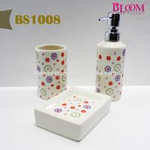 Decal design wholesale bathroom accessories sets