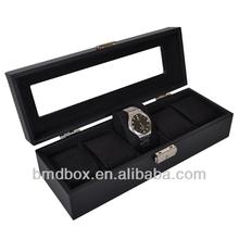 luxury 5 slots watch box birthday gifts for men