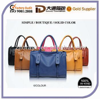 Newest Wholesale Fashion Leisure leather handbag