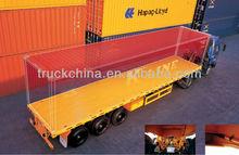 CIMC 40ft 3 Axles Semi Trailer Container Trailer 3 Axle Flatbed Semi Trailers For Sale