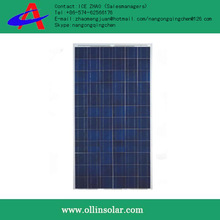 High efficiency hot sale 260w power solar cell panel