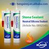 Stone Sealant Neutral 100% Rtv Silicone Sealant