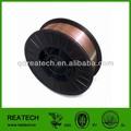 0.9mm de cobre recubierto de alambre de soldadura/er70s-6 alambre sólido de soldadura