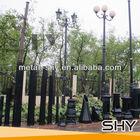 Outdoor Cast Iron Lamp Posts Design