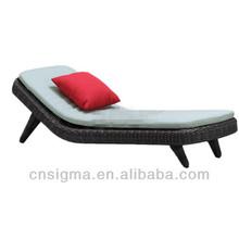 Deluxe Poolside/Beach Sunbathing Chaise Lounge Modern Hotel Lounge Design