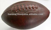 Old Fashion Laminated American Football