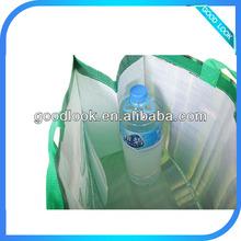 recycled pet bottles non woven bag non woven 6 bottle wine tote bag non woven bottles bag