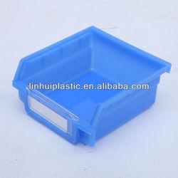 industrial plastic storage bins/Warehouse Storage stackable Plastic hang bins