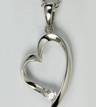 unique sterling silver bail pendant (AAFA-P)