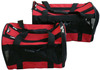 Foldable red dog carrier
