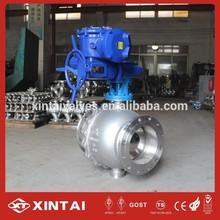 pneumatic actuator ball valve use our ss ball valve and ZT brand pneumatic
