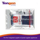 Transparent plastic zip lock bag packed mobile phone