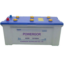 12V165AH Maintenance Free Automotive Battery NS200