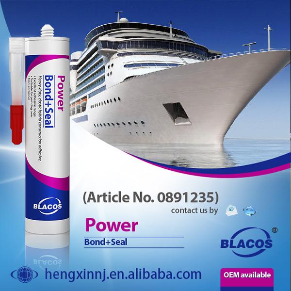 Blacos Bond+Seal Power Ms Polymer Clear Waterproof Sealant